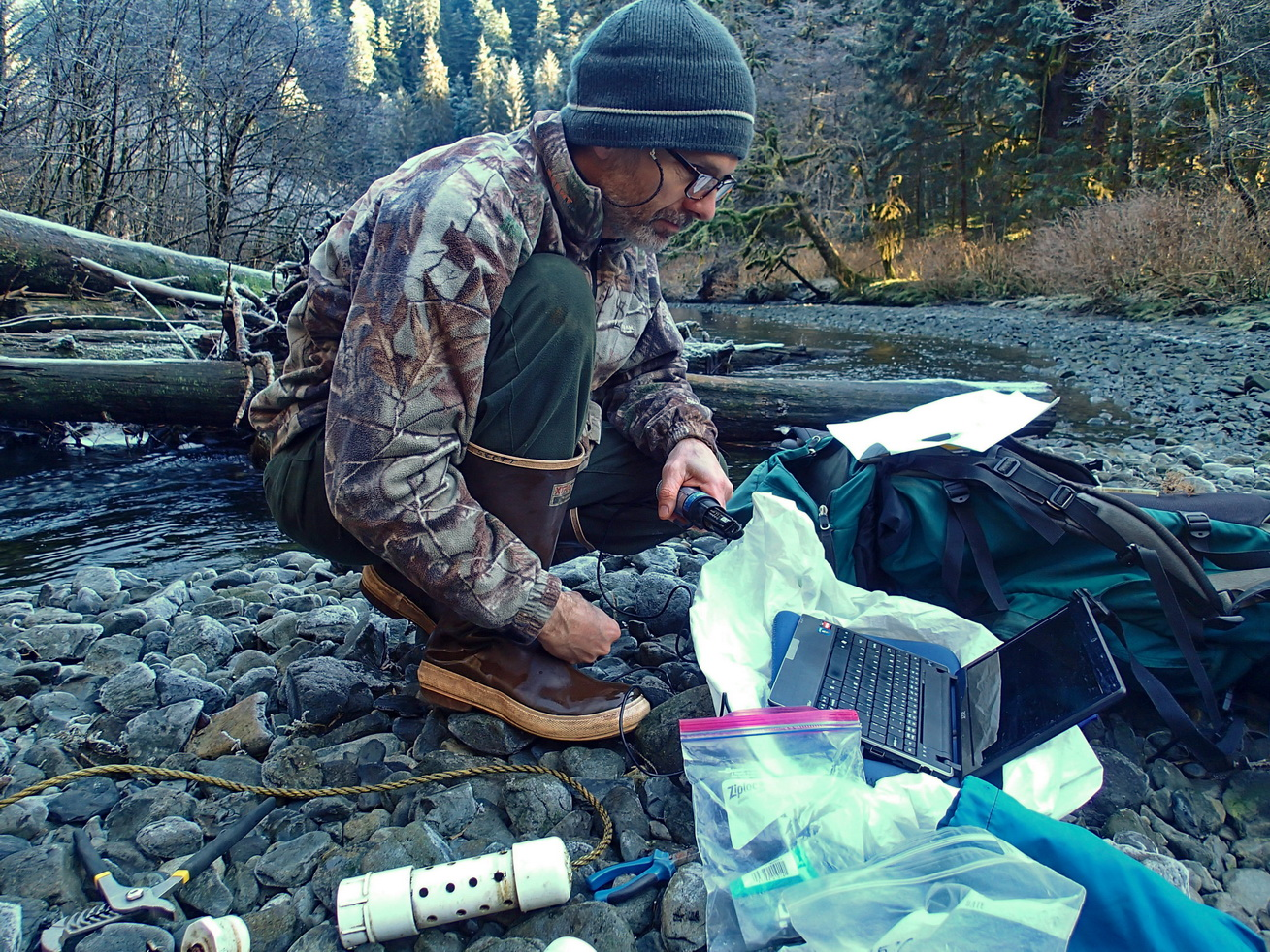 Southeast Alaska Stream Temperature Monitoring Network Seeks to Coordinate Climate Data Collection