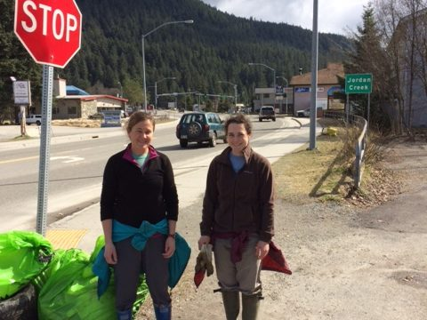 SAWC participates in Juneau's Litter Free Community Wide Pickup