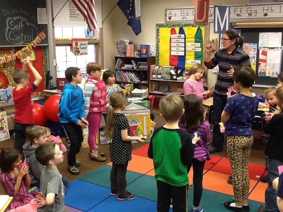 Skagway Salmon in the classroom