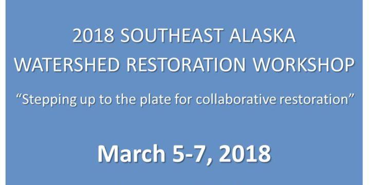 Save the Date! Watershed Restoration Workshop