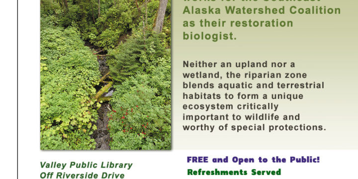 November 1st's Wildlife Wednesdays:  What's so special about the riparian zone?