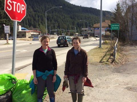 SAWC participates in Juneau's Litter Free Community Wide Pickup
