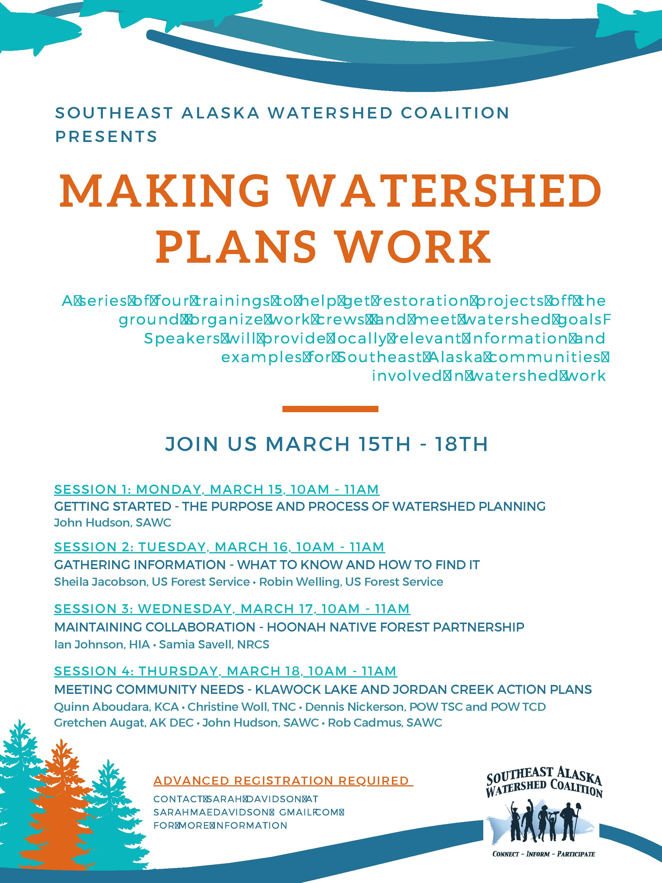 SAWC Presents: Making Watershed Plans Work